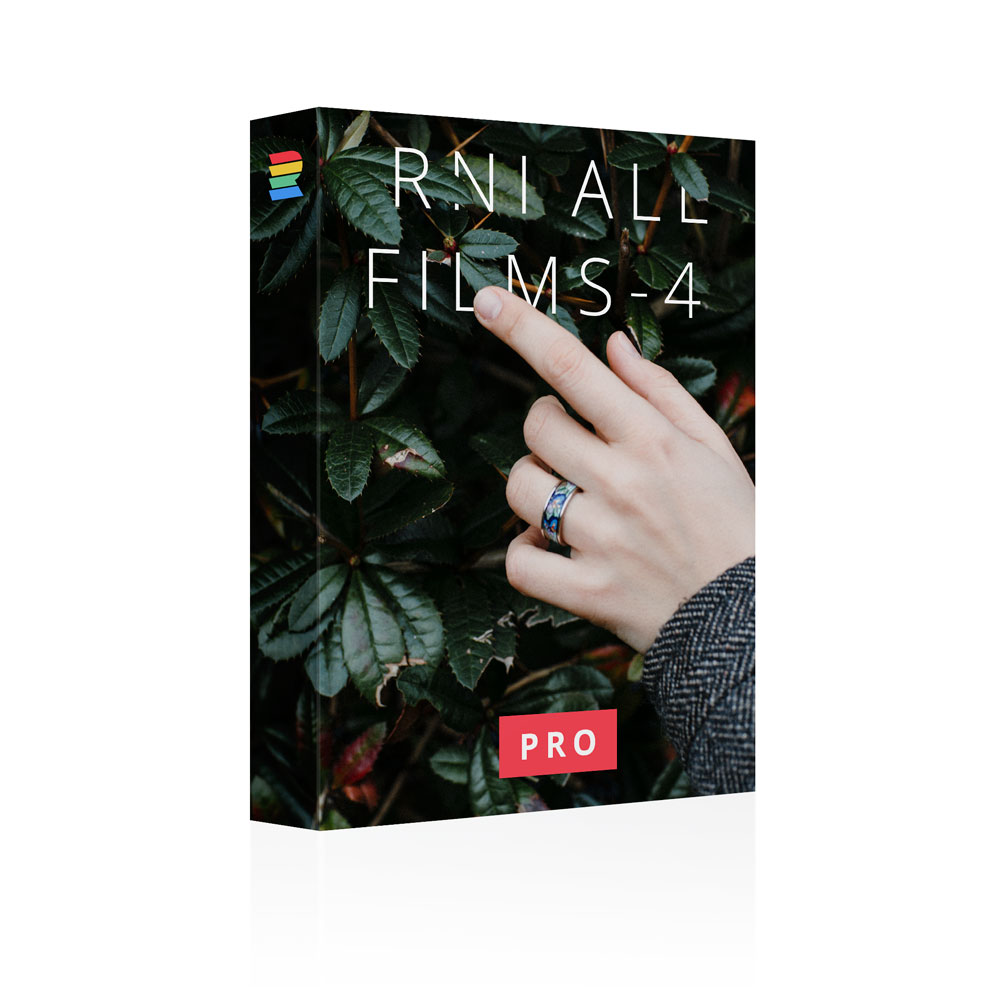 RNI All Films - 4 Pro – film presets for Lightroom and